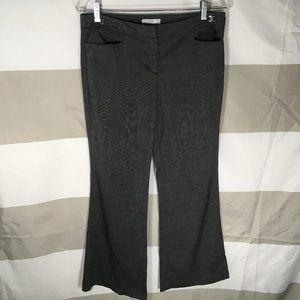 New York & Company Size 8 Petite Gray Dress Pants